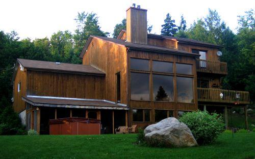 Ma maison de Cèdre Val-David Laurentides Quebec - Exit Chalets ...
