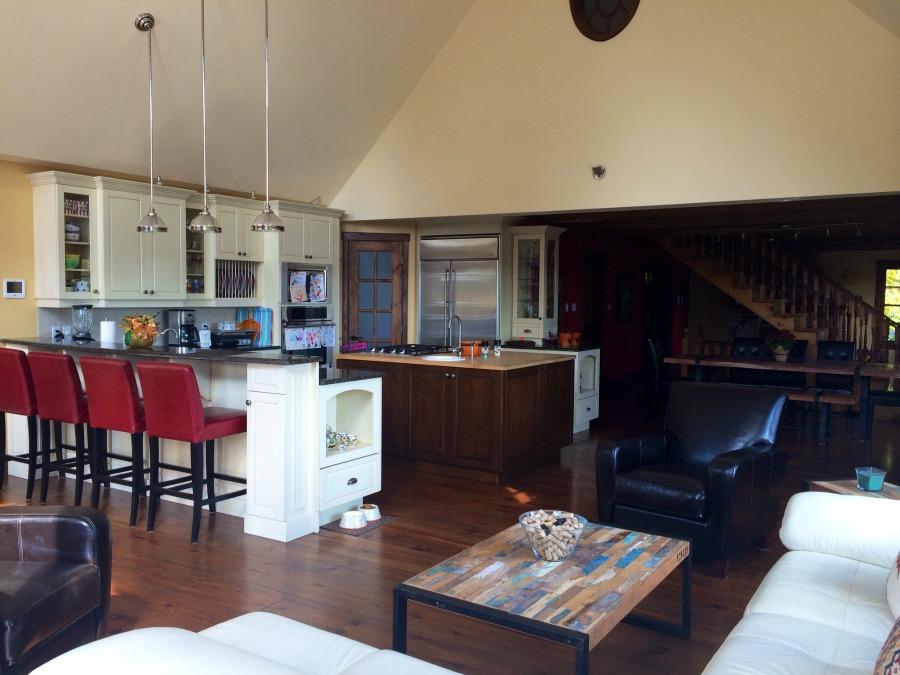 cuisine _ salon air ouverte